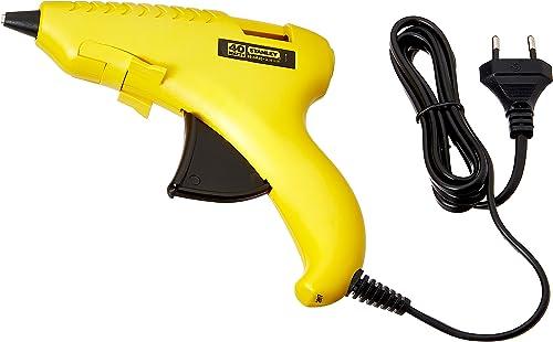 STANLEY 69-GR20B Plastic GluePro® Trigger Feed Hot Melt Glue Gun, Yellow