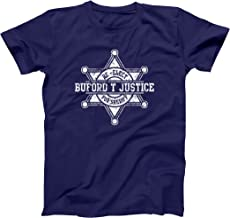 Re-Elect Buford T Justice for Sheriff Funny Cop Law Smokey Bandits Mens Shirt