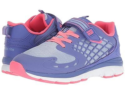 Stride Rite M2P Cannan (Little Kid) (Blue/Pink) Girls Shoes