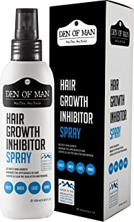 Den of Man Men and Women Natural Hair Growth Inhibitor Spray