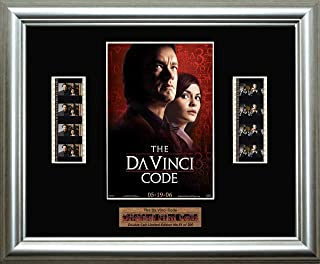 The Da Vinci Code - Framed double filmcell picture (sd)