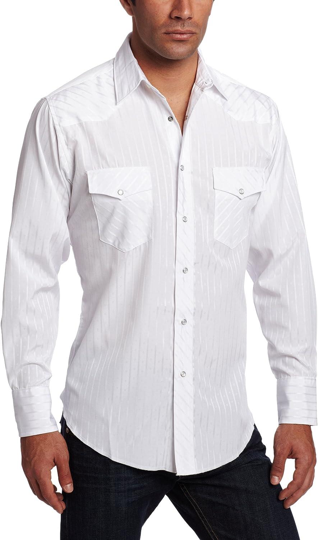Wrangler Men's Tall Size Sport Western Long Sleeve Snap Shirt