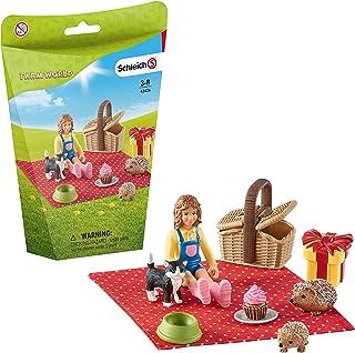 SCHLEICH SLH42426 Zestaw Urodzinowy Piknik ,wielokolorowy