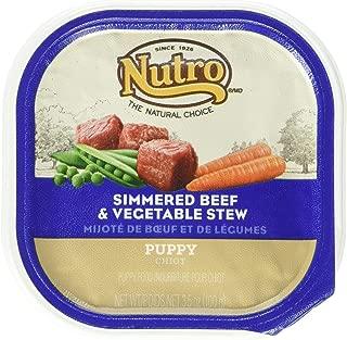 Nutro 50411782 Simmered Beef & Vegetable Stew Puppy, 24 Ea/3.5 Oz