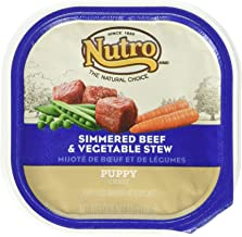 product image for Nutro 50411782 Simmered Beef & Vegetable Stew Puppy, 24 Ea/3.5 Oz