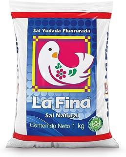 La Fina Sal Natural Yodada Fluorurada, 1 kg