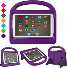 Case for Samsung Galaxy Tab E Lite 7.0 inch- Dinines Kids Case Light Weight Shockproof Protective Cover Handle Stand Case for Samung SM-T113 / Tab 3 Lite 7.0 SM-T110 / SM-T111 7-Inch Tablet (Purple)