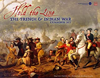 WOG: French & Indian War Expansion Kit, 2nd Edition, for the Hold the Line, American Revolution boardgame of tactical combat, 2nd edition