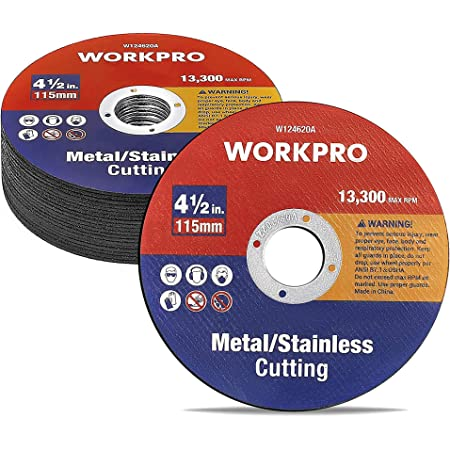 """10 4.5/"""" Inch Grinding Cut Off Wheel Disc 1//24/"""" 7//8/"""" Arbor Angle Grinder Tool"""