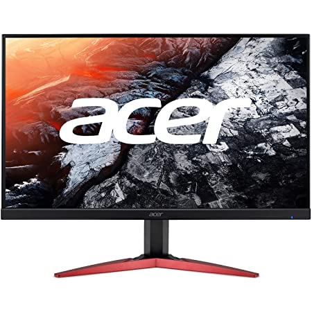 """Acer KG251Q Jbmidpx 24.5"""" Full HD (1920 x 1080) Gaming Monitor   AMD FreeSync   Up to 165Hz Refresh Rate   Up to 0.6ms   Zero-Frame   2 x 2 Watt Speakers (1 x Display Port, 1 x HDMI & 1 x DVI)"""