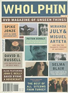 Wholphin DVD Magazine of Unseen Things (No.1) Al Gore Documentary; Soldiers Pay; Death of a Hen; Are You the Favorite Person of Anybody?; The Writer; The Big Empty; The House in the Middle; The Delicious; Malek Khorshid; Tatli Hayat; The Great Escape (No. 1)
