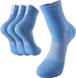 Calcetines Hombres de algodón engrosamiento deportivo Calcetines antideslizantes Transpirable para baloncesto