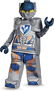 Clay Prestige Nexo Knights Lego Costume, Medium/7-8