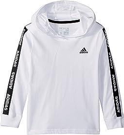 Branded Adidas Sleeve Hoodie (Little Kids)