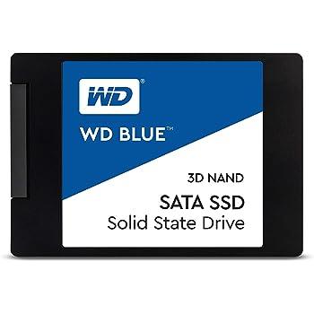 """Western Digital WDS500G2B0A WD Blue 500GB 3D NAND Internal SSD 2.5"""" SATA"""