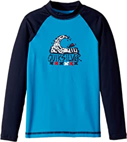 Quiksilver Kids Bubble Dream Long Sleeve Rashguard (Toddler/Little Kids)