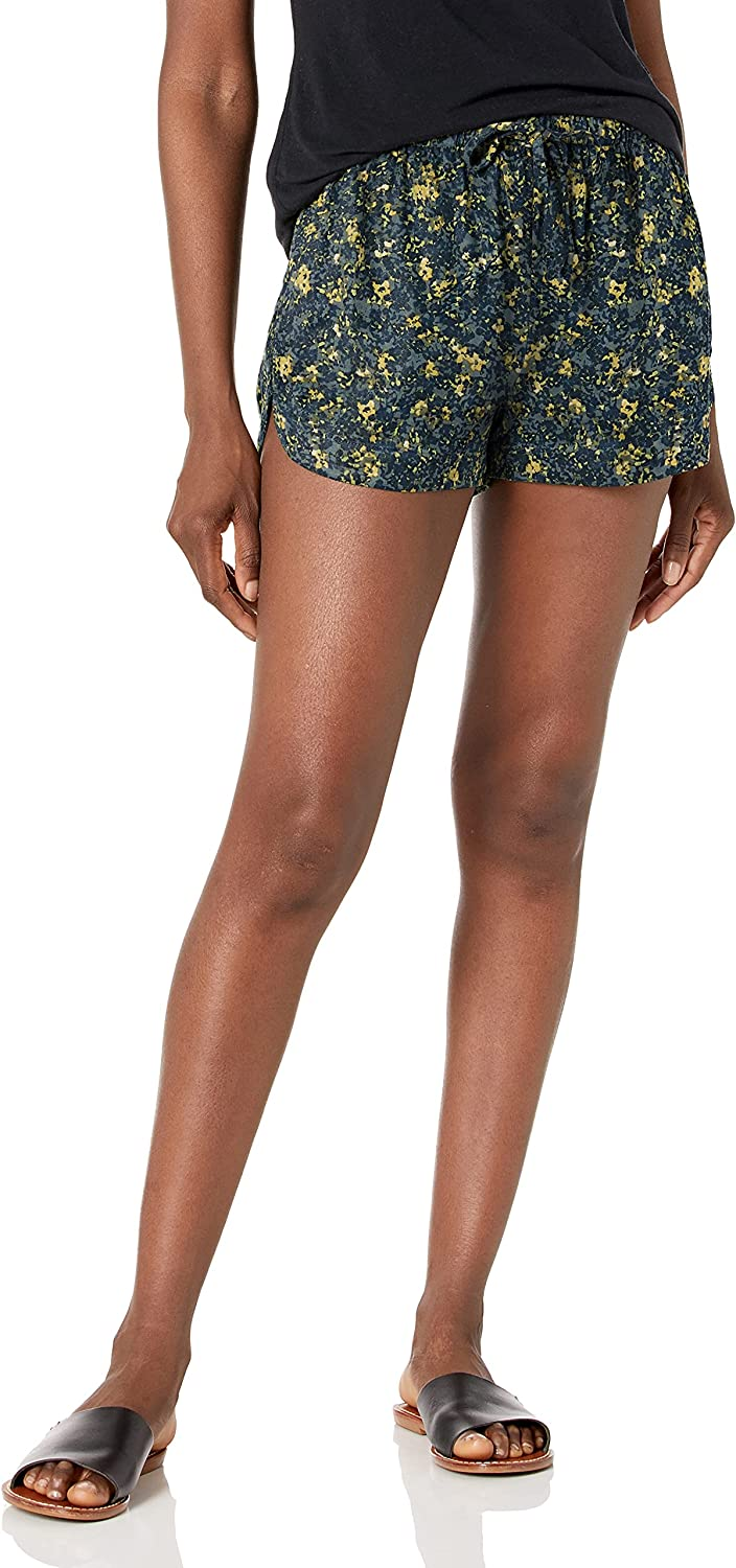 RVCA 最新号掲載アイテム Women's 本日限定 Grounded Coverup Short