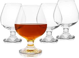 Brandy Snifter Cognac Glass Set (16 Oz, 4 Pieces)