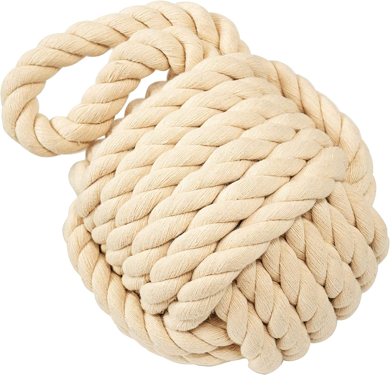 Golant Rope Knot Doorstop At the price of surprise Nautical Decorative Comple Large Heavy In a popularity