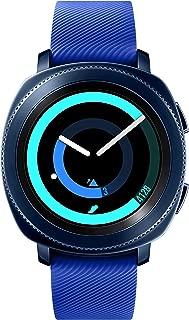 Samsung Gear Sport Smartwatch SM-R600 (Bluetooth/Compatible with iPhone), Blue - International Version
