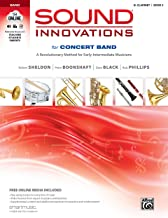 Sound Innovations for Concert Band, Bk 2: A Revolutionary Method for Early-Intermediate Musicians (B-flat Clarinet), Book & Online Media