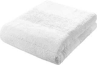 fleuresse Frottier 2828 duży ręcznik kąpielowy, z bordiurą w paski i zawieszką, standard Ökotex 100, waga 550 g/m², 90 x 2...