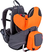 Best phil&teds Parade Child Carrier Frame Backpack, Orange – Compact, Lightweight (4.4lbs) – Holds a 40lb Child – Ergo Fit Harness – Waterproof – Minipack Included - 2 Year Guarantee Review