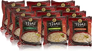 Thai Kitchen Instant Rice Noodle Soup Variety Pack, Gluten Free Ramen, Ready in 3..