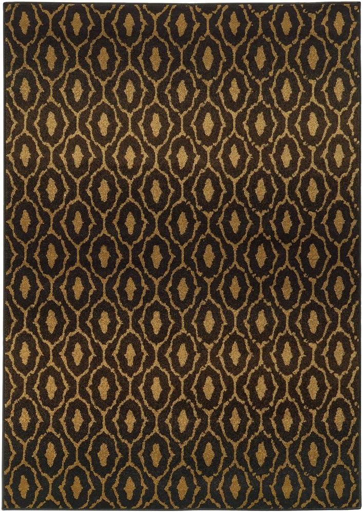 Moretti Relic Area Rug 5845B Superlatite Selling rankings Black x 12' 9' Swirls 10