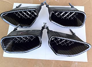 Performance Corvettes 2009-2013 Corvette C6 ZR1 Carbon Fiber HydroGraphics Fender Vents Grilles