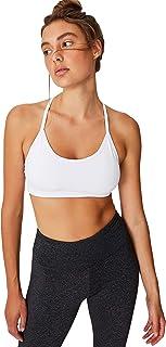 Cotton On womens Workout Yoga Crop Sports Bra