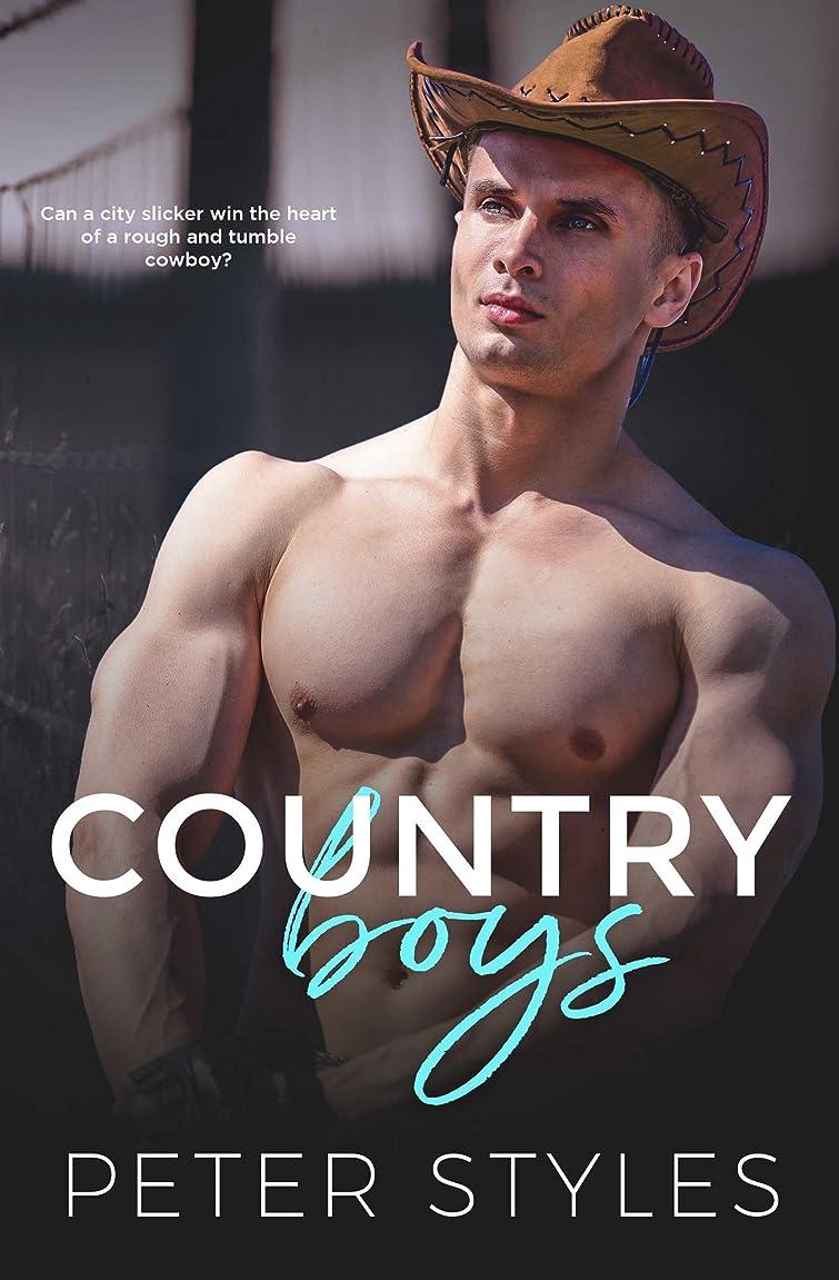 特徴づける無効にする海外でCountry Boys: A Friends to Lovers Second Chance Gay Romance (English Edition)