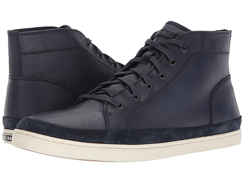 Cole Haan Nantucket Chukka (Marine Blue Leather/Suede) Men