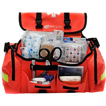 First Aid Kit Emergency Response Trauma Bag Complete