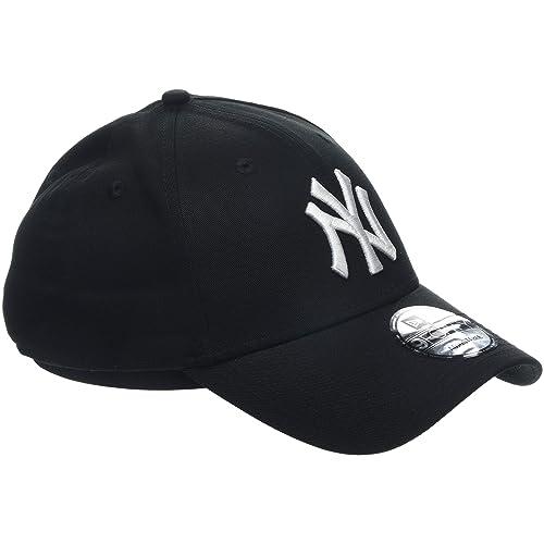 8fa4485266b New Era Men s MLB Basic NY Yankees 9Forty Adjustable Baseball Cap