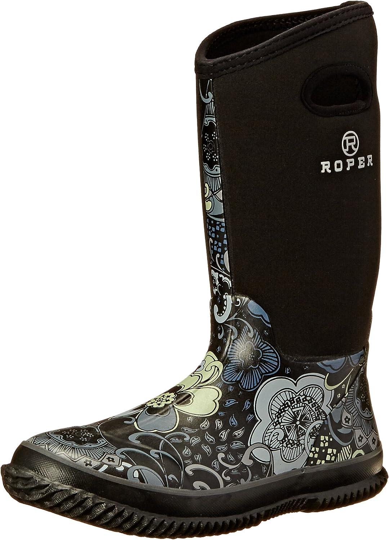 Roper Women's Barnyard Prints Rain shoes