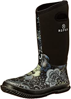 57d372e99e3c Roper Women s Barnyard Prints Rain Shoe