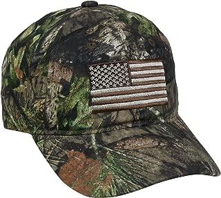 Outdoor Cap Men's Camouflage Americana Cap, One Size