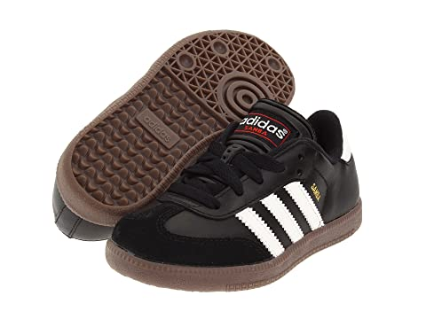 adidas Kids Samba® Classic Core (Toddler Little Kid Big Kid) at ... c7bf5744a7