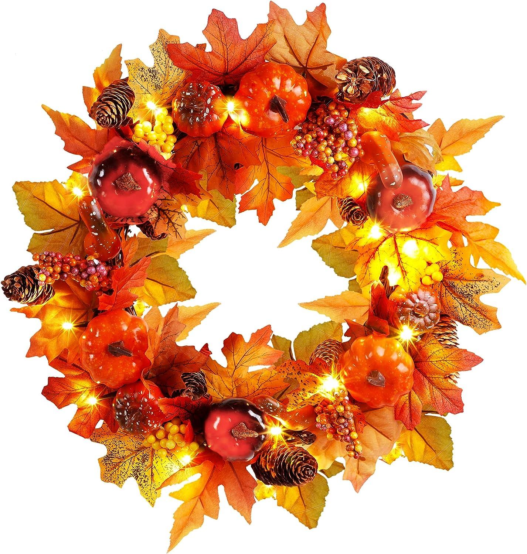 Joliyoou Fall Wreath, 15