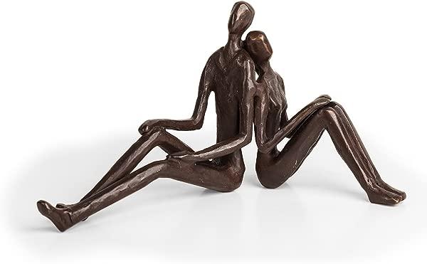 Danya B ZD15004 Contemporary Metal Art Home D Cor Cast Bronze Sculpture Romantic Couple