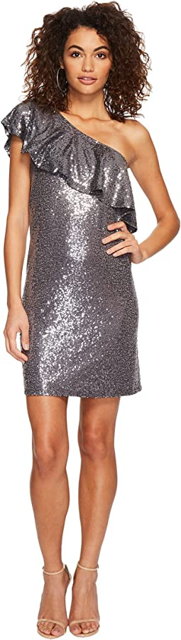 kensie - Sequin Jersey Dress KSDK8110