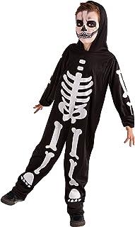 Rubie's-déguisement officiel - Rubie's- Déguisement Enfant Squelette Phosphorescent - Taille M- S8318M