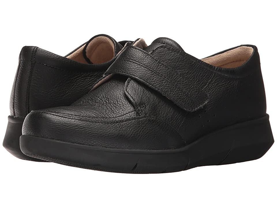 Hush Puppies Believe Mardie (Black Leather) Women
