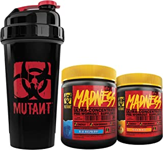 Mutant Madness - Redefines The Pre-Workout Experience and Takes it to a Whole New Extreme Level, Engineered Exclusively for High Intensity Workouts, 225g (Power-Punch Bundle)
