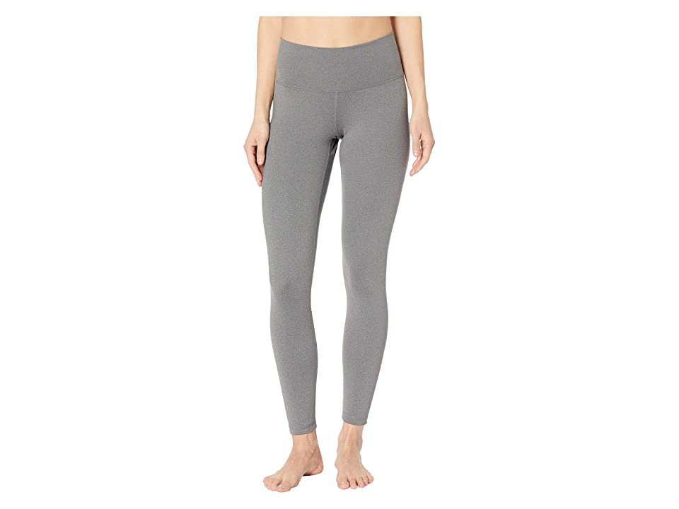 adidas Believe This High-Rise 7/8 Tights (Dark Grey Heather) Women