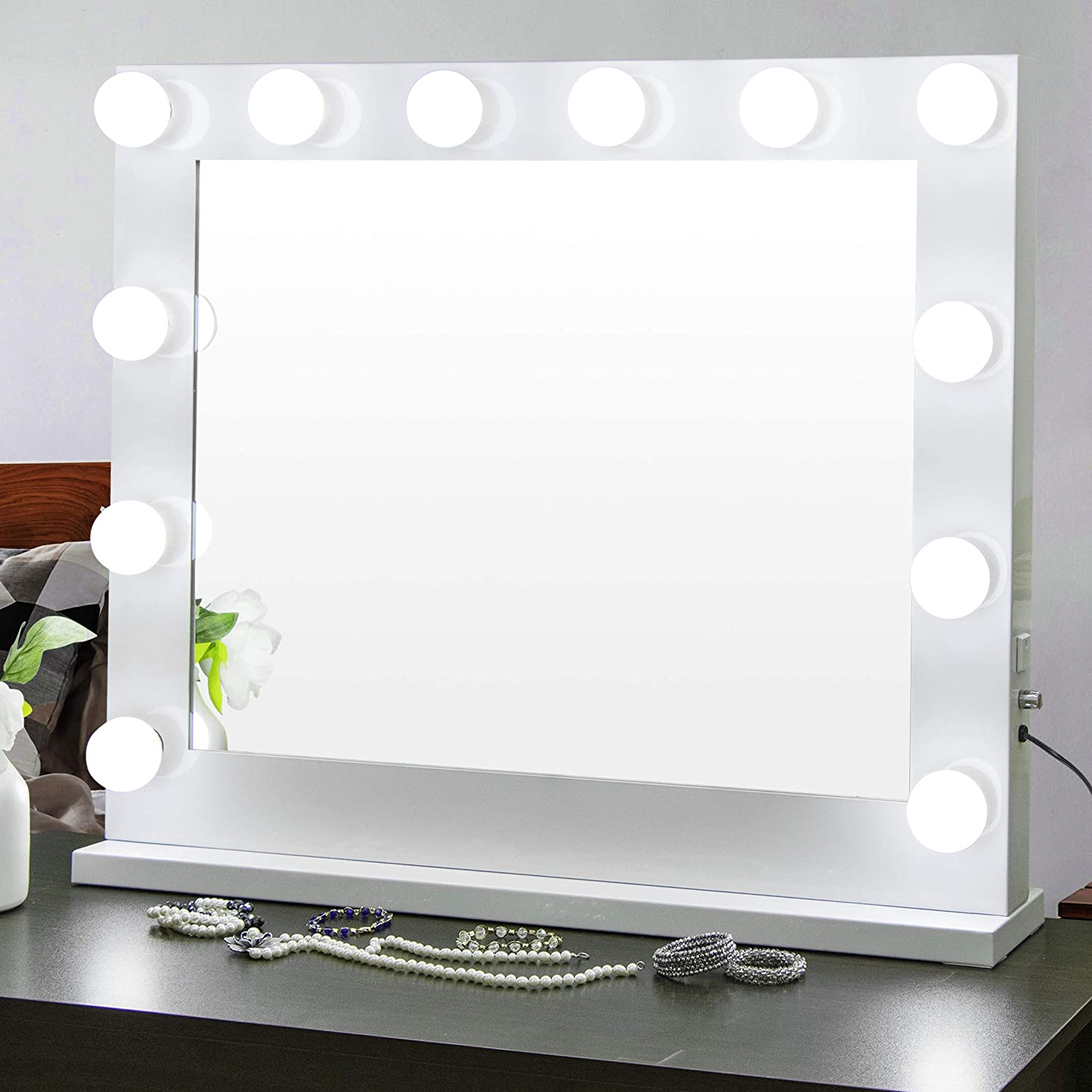 ZENY Long-awaited Hollywood Vanity Makeup Dressing Table Light Mirror 55% OFF