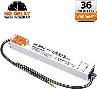 QILIPSU 30W LED Driver IP67 Waterproof LED Power Supply 12V DC Output Transformer (30W)