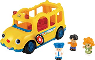 fisher price lil movers school bus