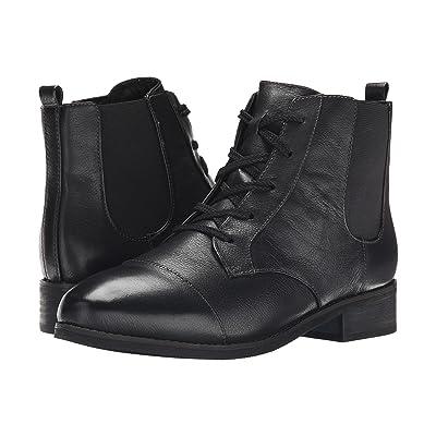 SoftWalk Miller (Black Soft Wax Tumbled Leather) Women